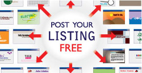 Post your listing free sign